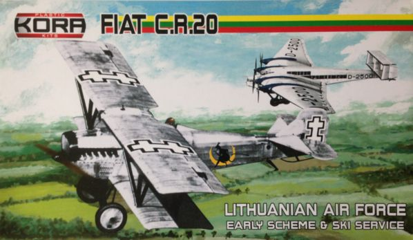 FIAT C.R. 20 Lithuanian service early