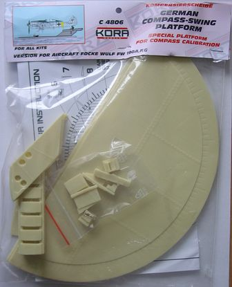 Compass-swing platform for Fw-190A, F, G