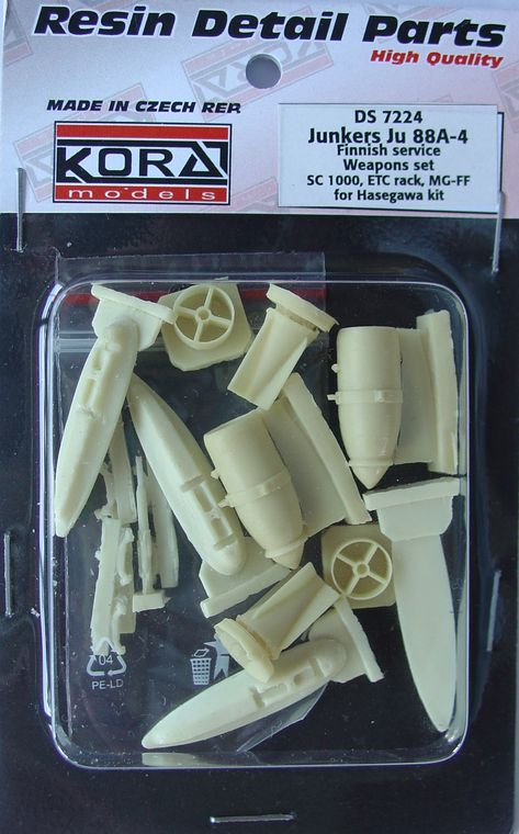 Ju 88A-4 Weapons set