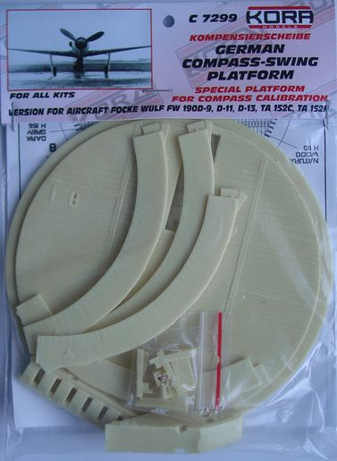 Compass-swing platform for Fw-190D/Ta-152 all versions