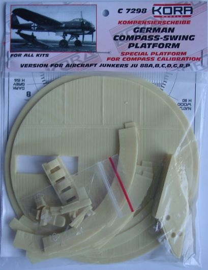 Compass-swing platform for Ju-88 all versions