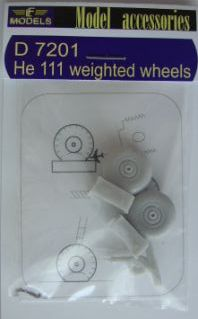 He 111 weighted wheels