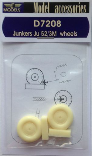Junkers Ju 52/3M weighted wheels