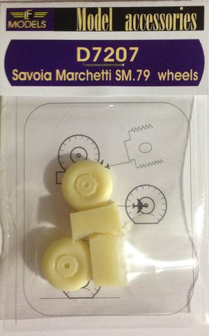 Savoia Marchetti SM.79 weighted wheels