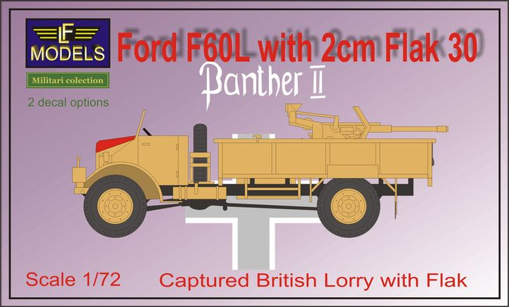 Ford F60L with 2cm Flak 30