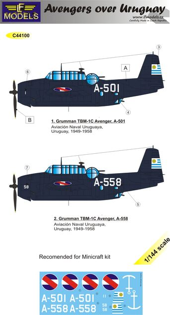 Grumman Avenger over Uruguay part II.