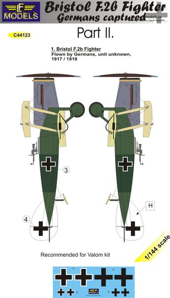 Bristol F.2b Fighter Germans Captured Part II.