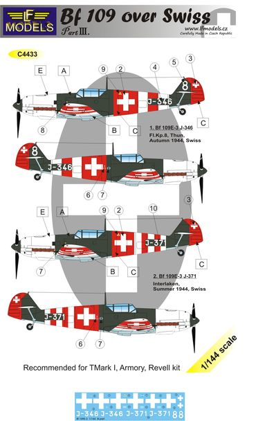 Bf 109 over Swiss III.