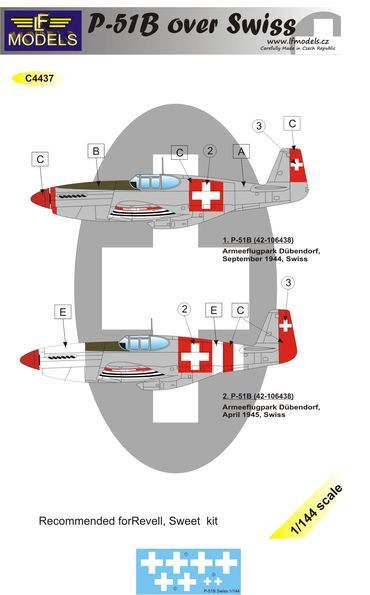 P-51B over Swiss