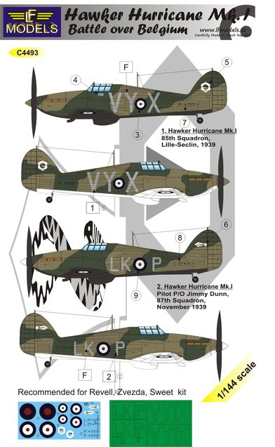 H.Hurricane Mk.I. Battle over France part I.