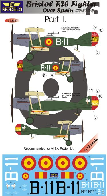 Bristol F.2b Fighter over Spain Part II.