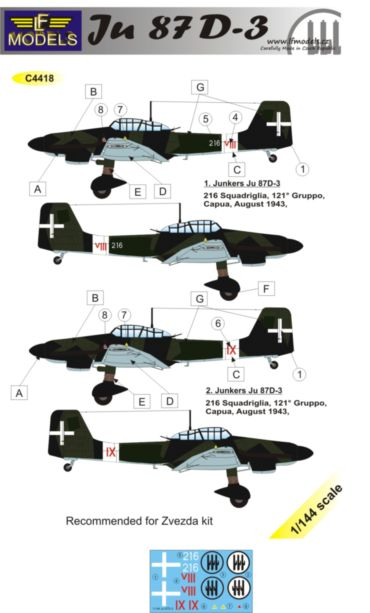 Junkers Ju87D-3 Italy