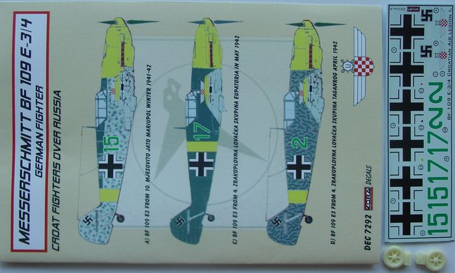Bf 109E-3/4 Croatia over Russia part I.