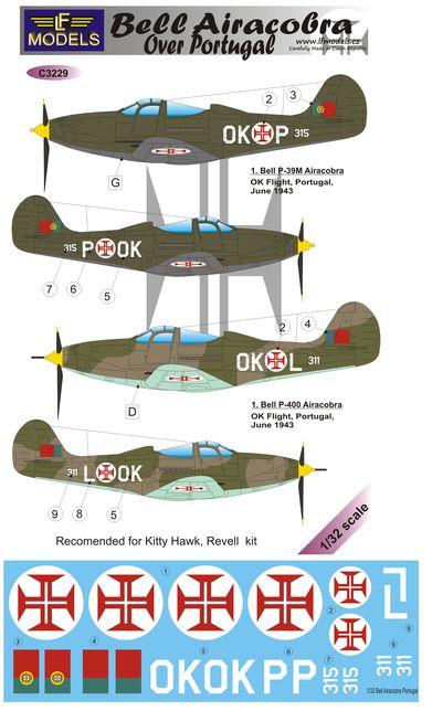 LF Models Decals 1//48 HAWKER HURRICANE Mk.II OVER PORTUGAL Part 1