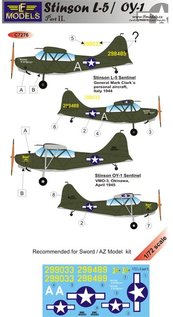 Stinson L-5 / OY-1 part II.
