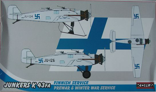 Junkers K43FA Finish prewar-winter war
