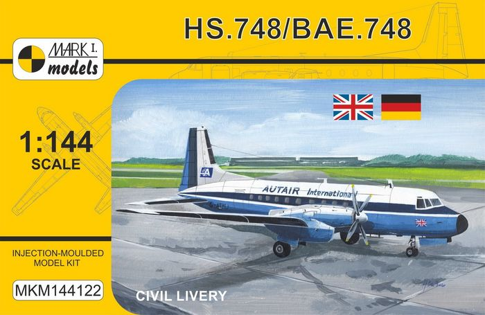 HS.748/BAe.748 'Civil Livery'