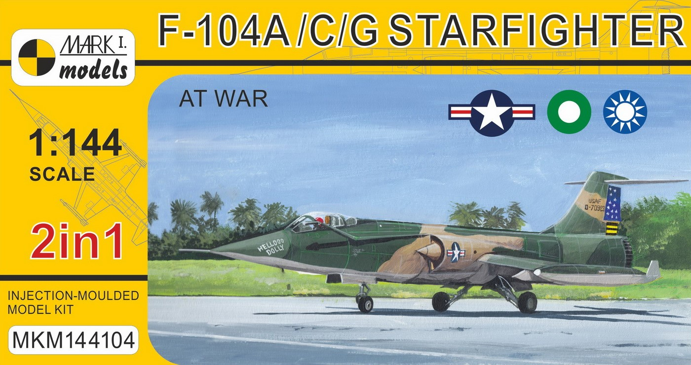 F-104A/C/G 'Starfighter At War' (2in1)