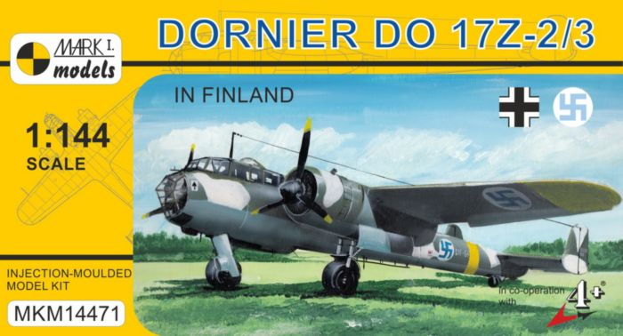 Do 17Z-2/3 'In Finland' - Click Image to Close