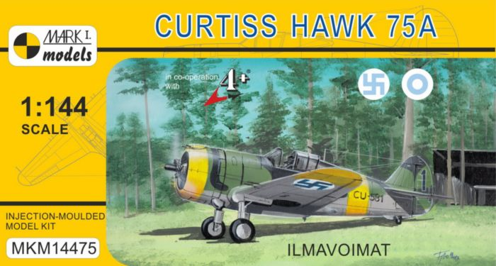 Curtiss H-75A 'Ilmavoimat' - Click Image to Close