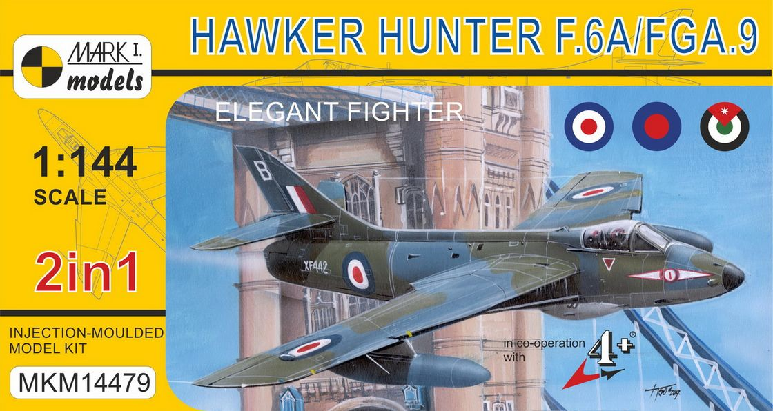 Hawker Hunter F.6A/FGA.9 �Elegant Fighter� (2in1)