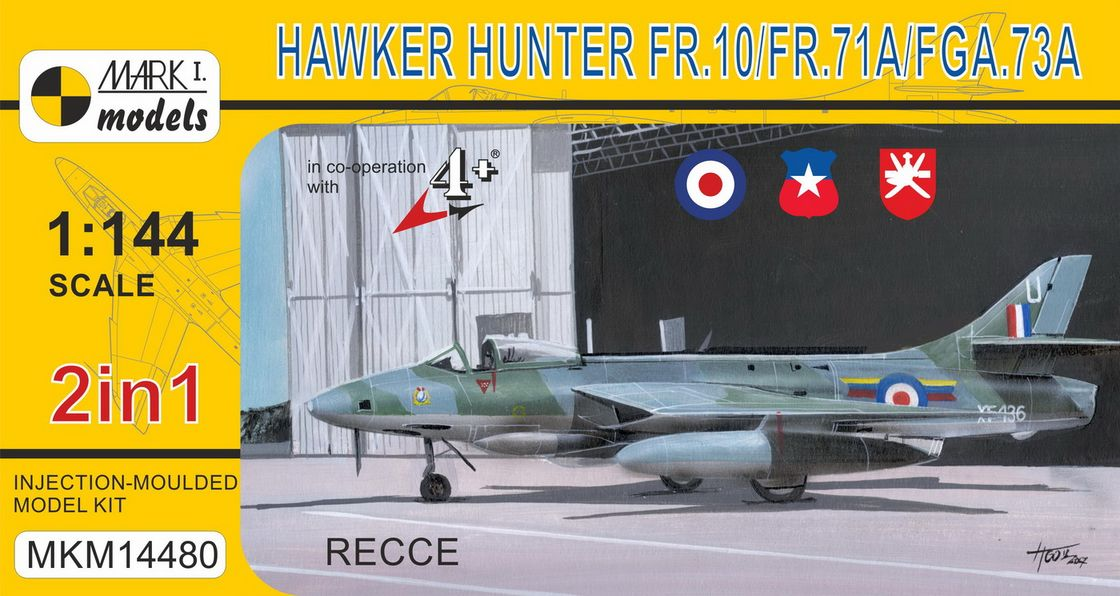 Hawker Hunter FR.10/71A/FGA.73A �Recce� (2in1)
