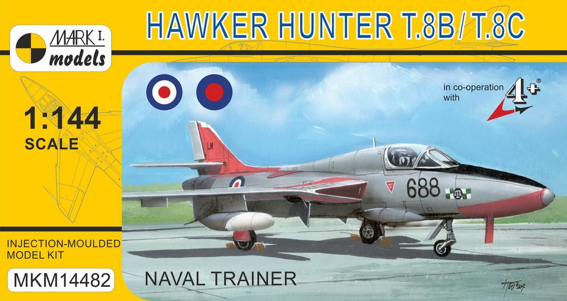 Hawker Hunter T.8 �Naval Trainer�