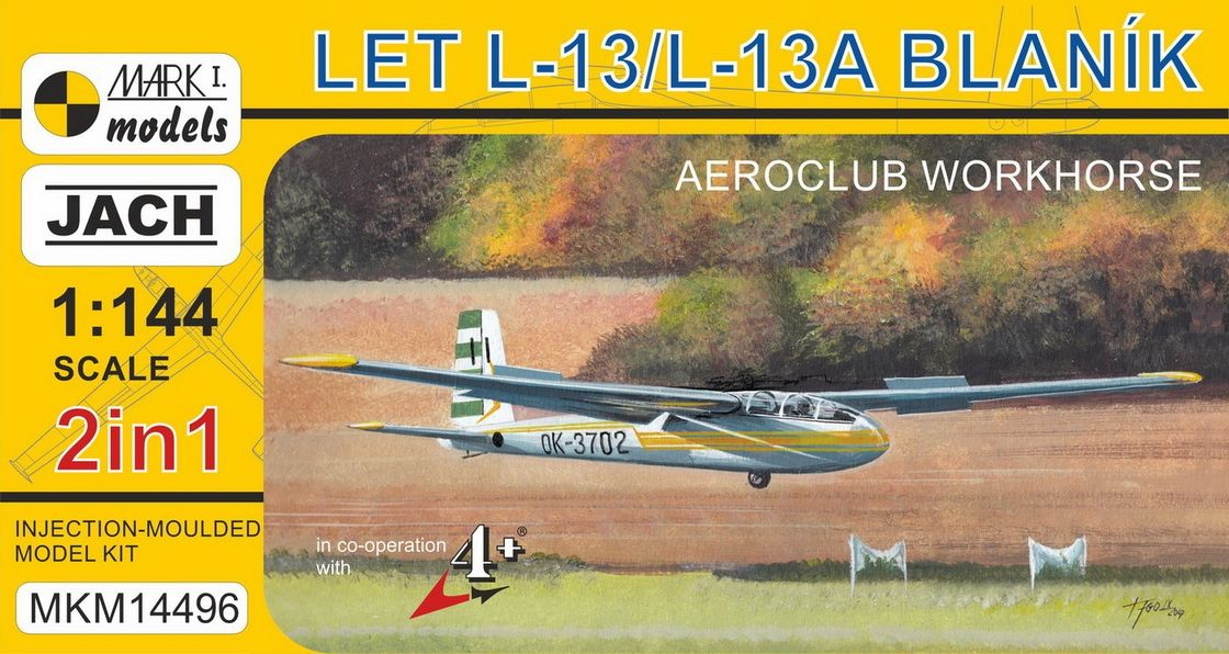 L-13 Blanik 'Aeroclubs' (2in1)