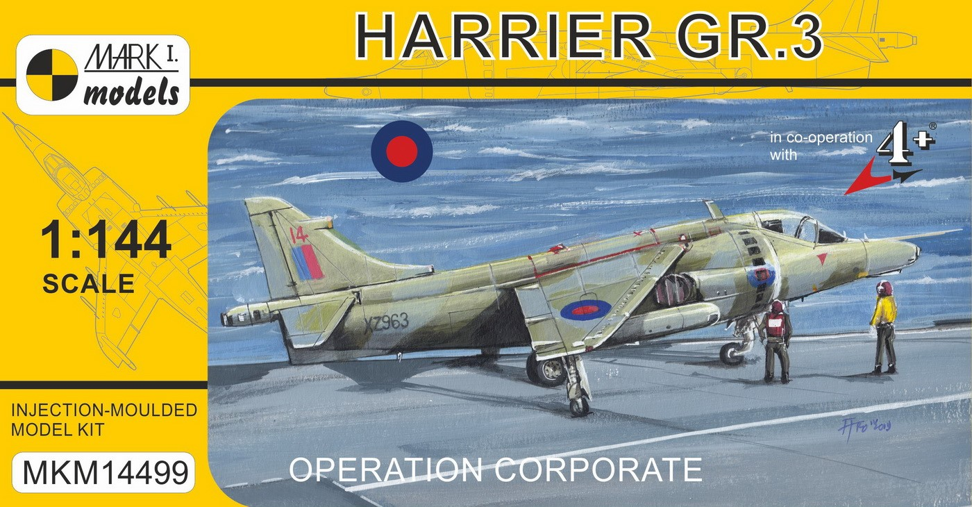 Harrier GR.3 'Operation Corporate'