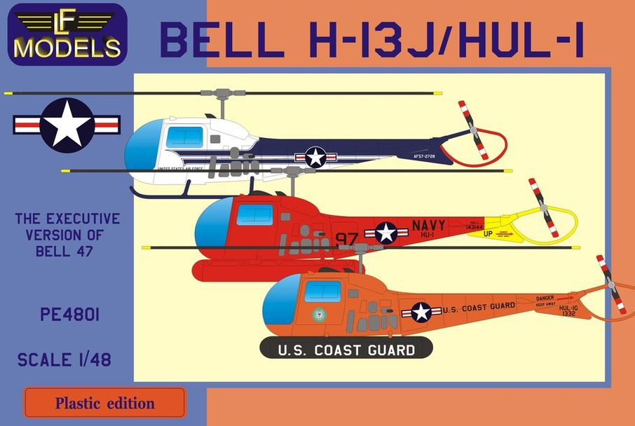 Bell H-13J/HUL-1 (US VIP Transport, US Navy, US Coast Guard)
