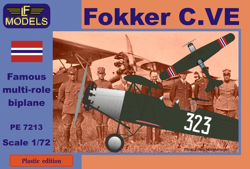 Fokker C.VE Norway Bristol Jupiter