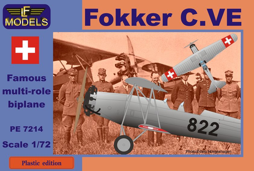 Fokker C.VE Switzerland Bristol Jupiter