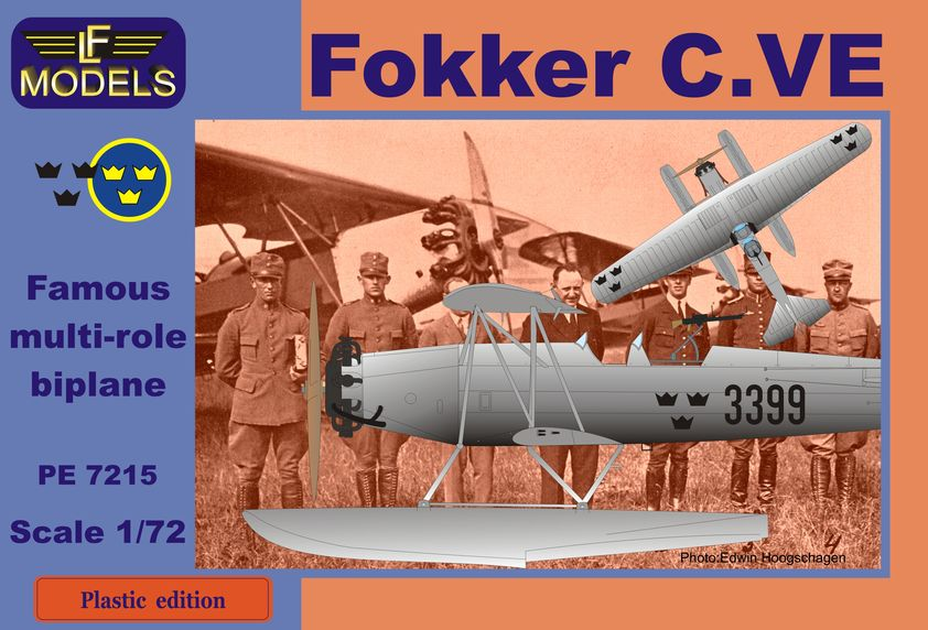 Fokker C.VE Sweden Bristol Mercury Float