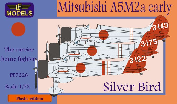 "Mitsubishi A5M2a early Claude ""Silver Bird"""