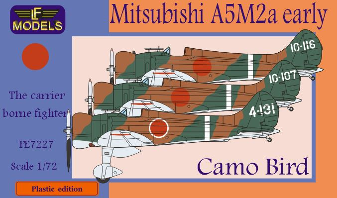 "Mitsubishi A5M2a early Claude ""Camo Bird"""