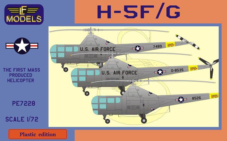 LF Models 1//72 WESTLAND SIKORSKY WS-51 DRAGONFLY HR.Mk.3 Helicopter