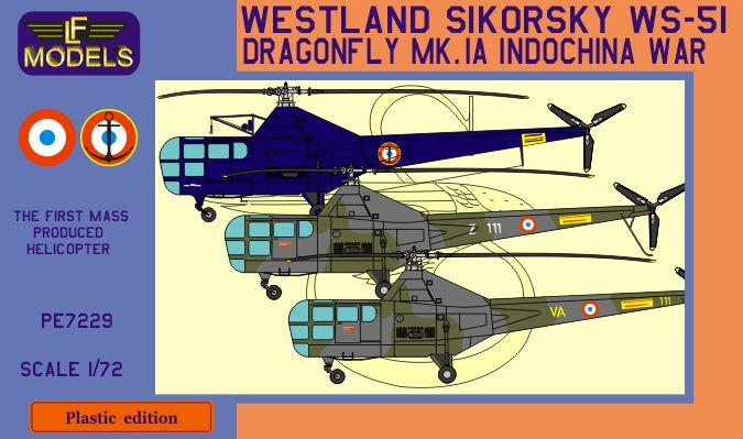 Westland Sikorsky WS-51 Dragonfly HR.Mk.1A Indochina war