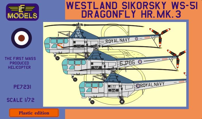 Westland Sikorsky WS-51 Dragonfly HR.Mk.3 - Click Image to Close