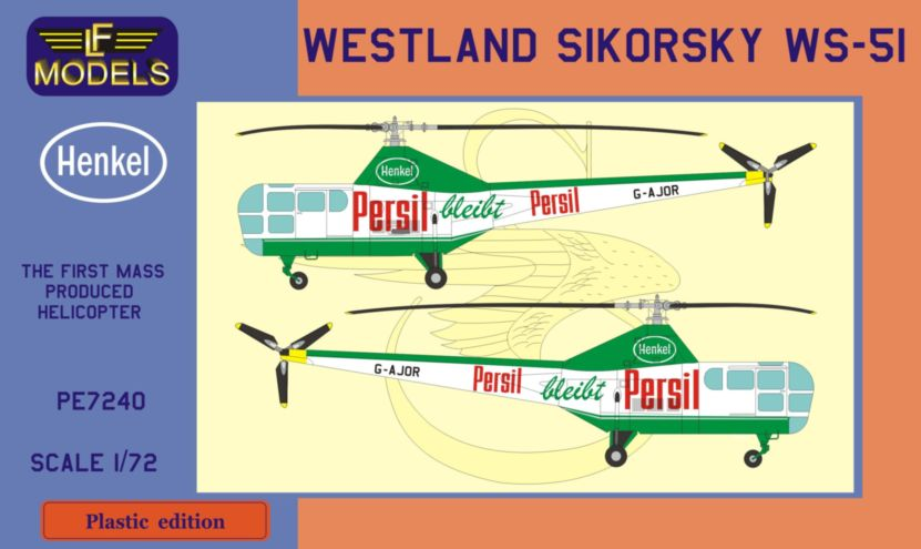 Sikorsky S-51 Persil promoted helicopter