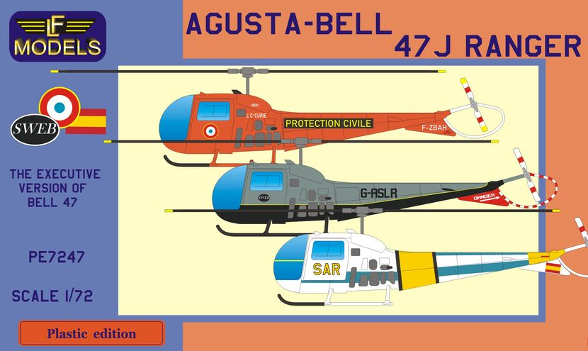 Agusta-Bell 47J Ranger (France, UK, Spain)