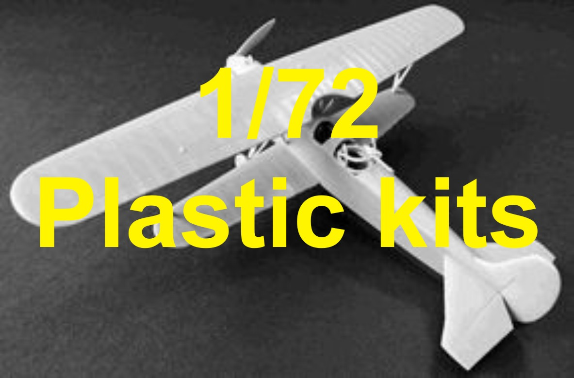 1/72 scale plastic kits
