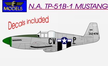 N.A. TP-51B Trainer Mustang