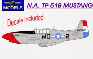 N.A. TP-51B Mustang - Click Image to Close