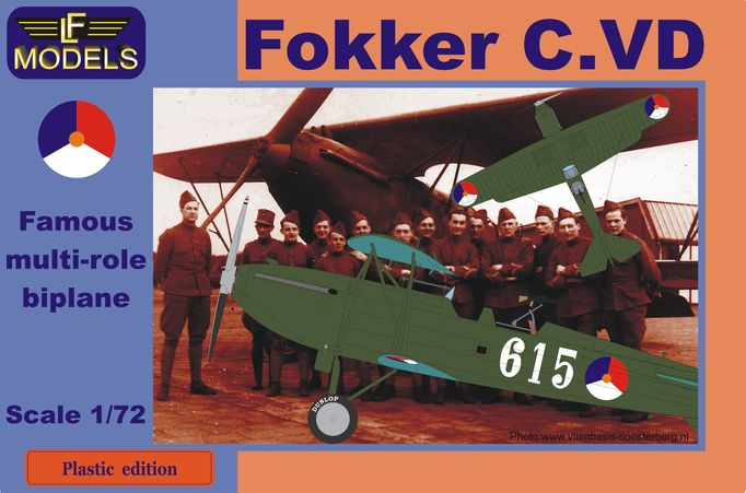 Fokker C.VD Holland part I.