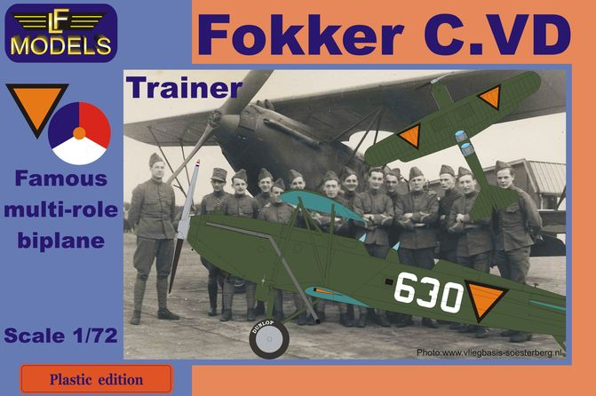 Fokker C.VD Trainer Holland part III.
