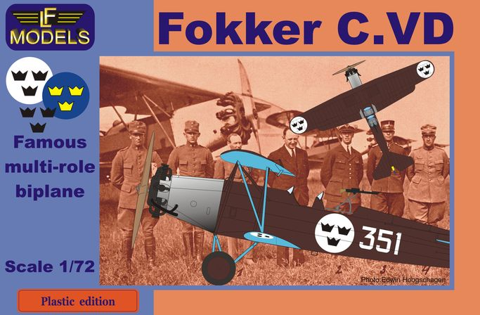 Fokker C.VD Sweden Bristol Jupiter engine - Click Image to Close