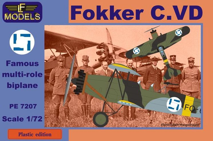 Fokker C.VD Finland A.W.Sidelley Panther engine