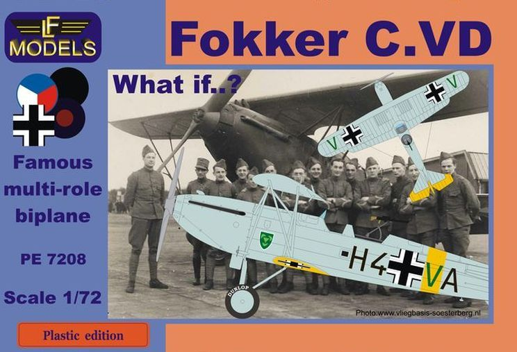Fokker C.VD What if? Luftwaffe, Czech, UK, Spanish civil war - Click Image to Close