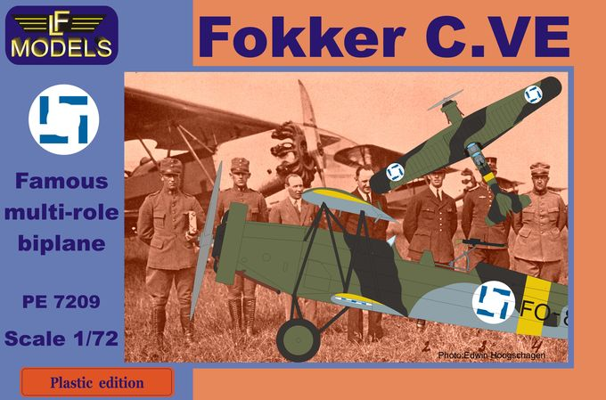 Fokker C.VE Finland Bristol Mercury engine