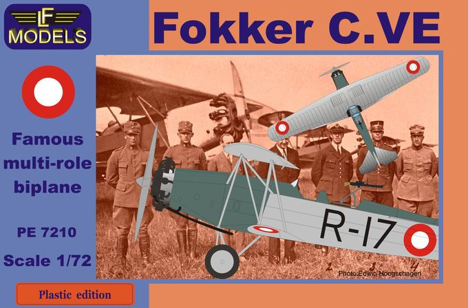 Fokker C.VE Denmark Bristol Jupiter engine